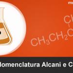 Una guida con Esercizi di nomenclatura di alcani e cicloalcani