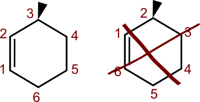 Numerazione cicloalcheni