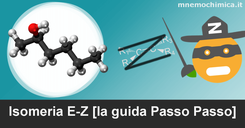 La guida passo passo per l'isomeria e-z per dare un nome agli alcheni