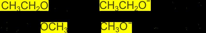 Trucco per i reagenti della sintesi di Williamson
