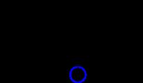 Molecola di acido (Z) 3,4-dicloro 3-butenoico