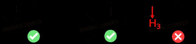 Aldeidi senza idrogeni in alfa come: benzaldeide o trisostituita