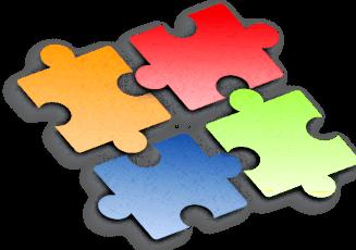 La chimica Organica è come un puzzle formato da 4 tasselli